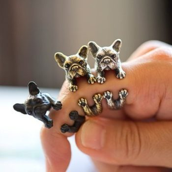 Кольцо Собачка