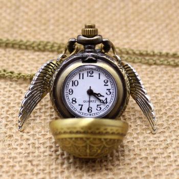 Золотой Снитч Часы