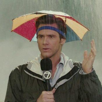 Зонт Брюса Всемогущего