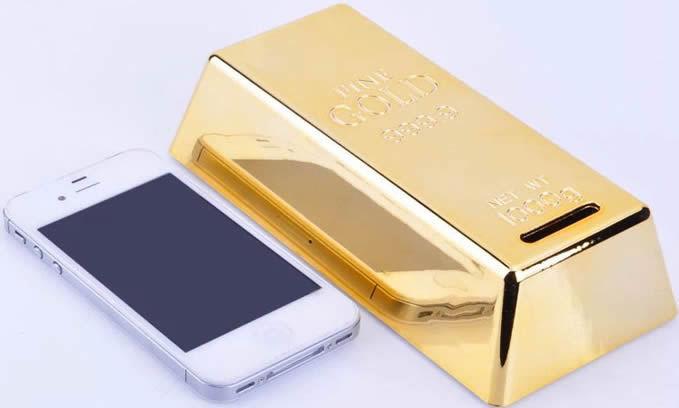 Копилка Золотой Слиток