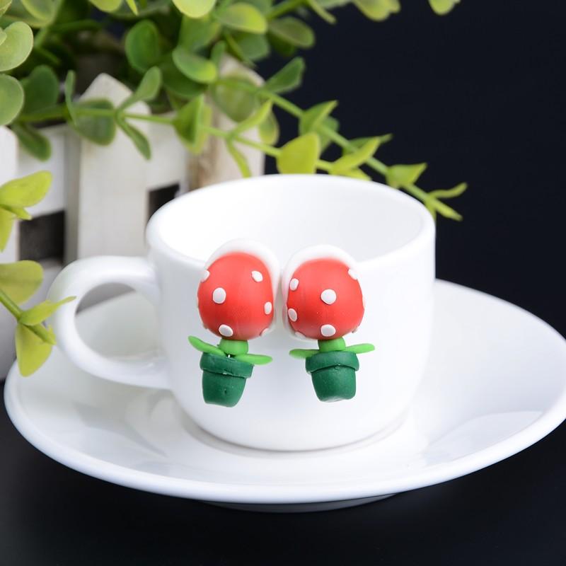 Серьги Супер Марио