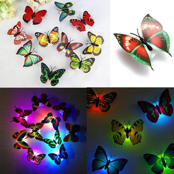 Фонари Ночные Бабочки