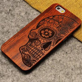 Чехол iPhone из Дерева