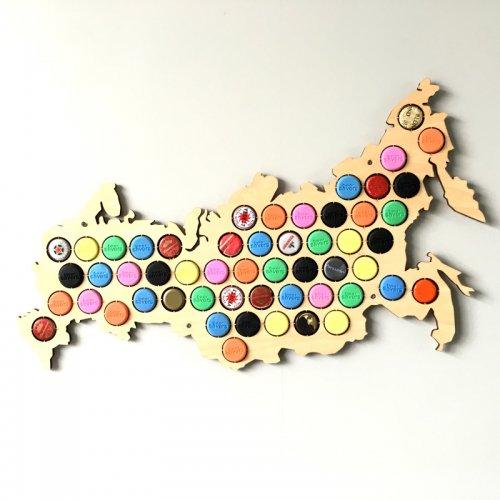 Карта Пивных Крышек