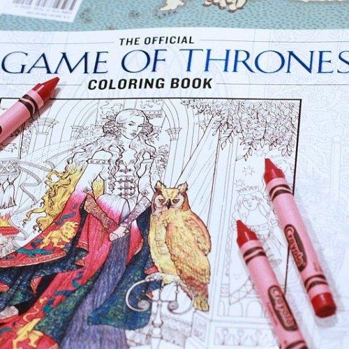 GOT Книжка Раскраска
