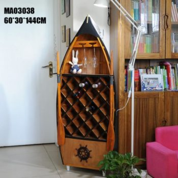 Лодка Винный Шкаф