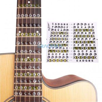 Наклейки Нот На Гитару