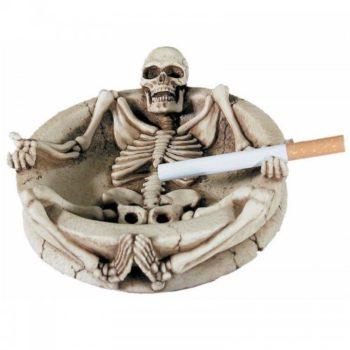 Пепельница Скелет