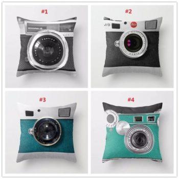 Подушка В Виде Камеры