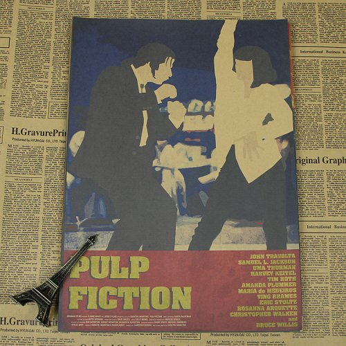 Постеры Pulp Fiction