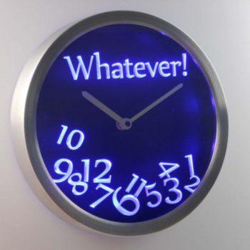 Пофигистские часы