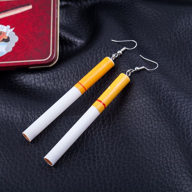 Серьги Сигареты